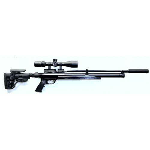 Пневматическая винтовка Егерь ( Jaeger РОК)  6.35 SP тактика карабин LW 550 мм. полигонал