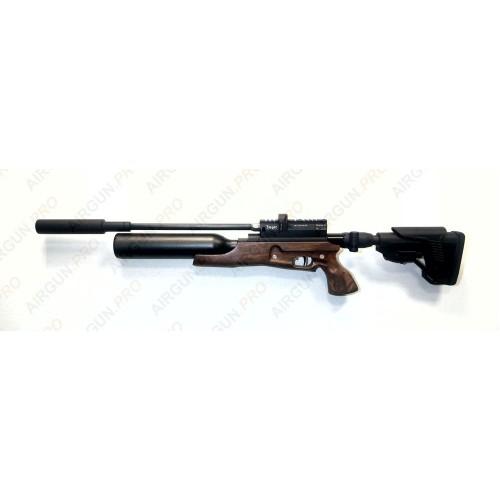 Пневматическая винтовка Егерь ( Jaeger РОК)  5.5 SP складной карабин колба LW 550 мм. полигонал