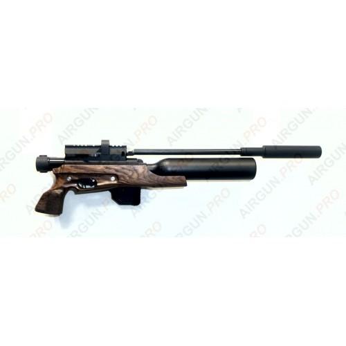 Пневматическая винтовка Егерь ( Jaeger РОК)  6.35 SP складной карабин колба 0,45л/200 бар, AP 400 мм.