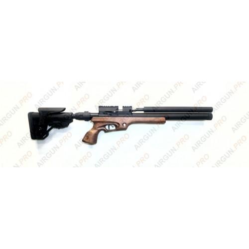 Пневматическая винтовка Егерь ( Jaeger РОК)  6.35 (.25cal) SPR редуктор 470/чок карабин складной приклад