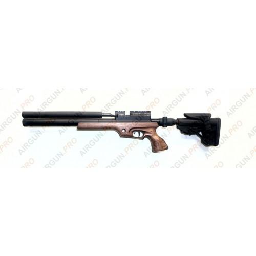 Пневматическая винтовка Егерь ( Jaeger РОК)  6.35 SPR складной карабин LW 470 мм чок