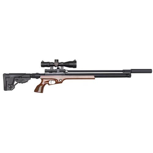 Пневматическая винтовка Егерь ( Jaeger РОК)   6.35  (.25cal) SP складной приклад карабин 550 мм. полигонал (C5) Дима