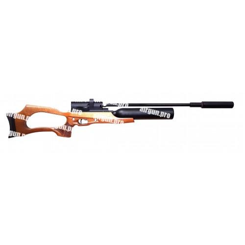 Пневматическая винтовка Егерь ( Jaeger РОК)  5.5 (.22cal) SP карабин колба 0,5л/300 бар,  550 мм. полигонал   (B6)