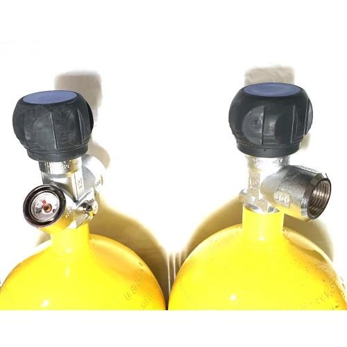 Баллон высокого давления R-Extra 6,8л (итальянский вентиль без манометра Pergola)