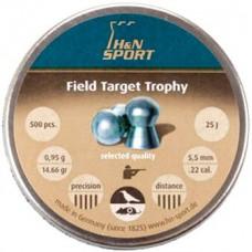 Пули Haendler&Natermann Field Target Trophy .22 (5.53мм) 0.9 5гр. (500шт.)