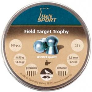 Пули Haendler&Natermann Field Target Trophy .22 (5.53мм) 0.95г, (500шт.)