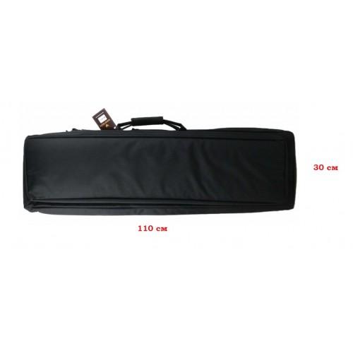 Чехол оружейный А-5-1 110см с рюкзачными лямками черный