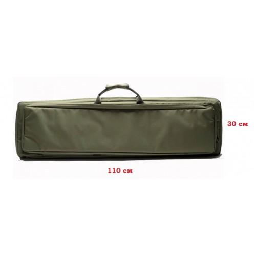 Чехол оружейный Vektor А-5-1 110 см с рюкзачными лямками оливковый