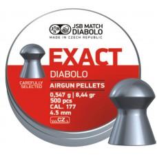 JSB Diabolo EXACT cal .177 (4.50мм) 0.54г. (500шт.)