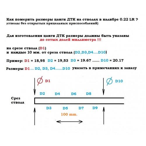 ДТКП BoS Rimfire .22cal