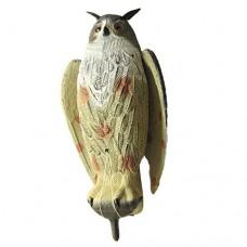 Чучело филин большой с крыльями