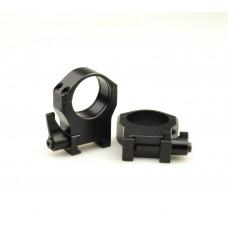Кольца быстросъемные Luman Precision D30 высокие LP30HWAL
