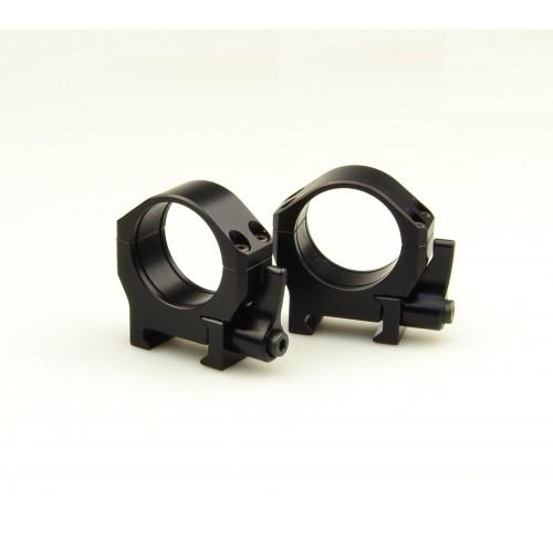 Кольца быстросъемные Luman Precision D30 низкие LP30LWAL