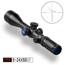 Прицел DISCOVERY FFP 6-24X50SFIR с подсветкой