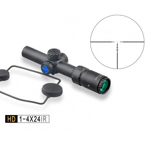 Прицел DISCOVERY HD 1-4X24 IR с подсветкой