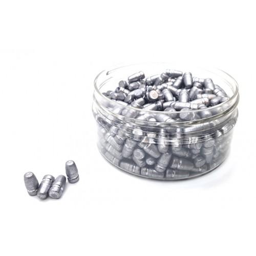 Пули 6.42 3.9 гр литая AIRGUN.PRO (V2)  (200 шт.) (Сайзереная и осаленная)