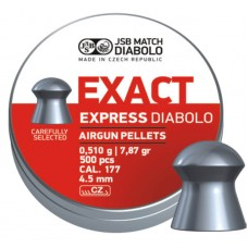 JSB Diabolo EXACT EXPRESS cal .177 (4.52мм), 0.51г. (500шт.)