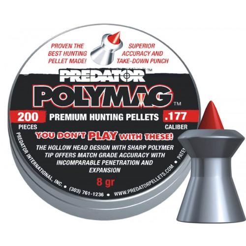 Пули JSB Predator Polymag cal .177 (4.50мм) 0.52г. (200шт.)