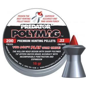 Пули JSB Predator Polymag cal .22 (5,5мм) 1.037г. (200шт.)