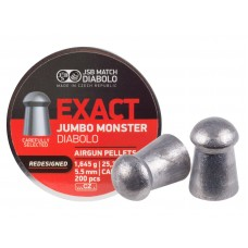 JSB Diabolo EXACT MONSTER REDESIGNED cal .22(5.52мм) 1.645г. (200шт.)